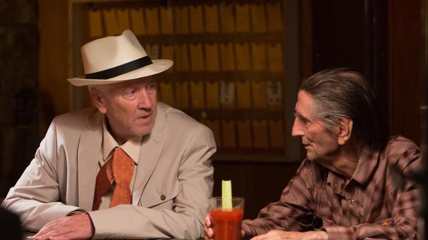 David Lynch, uno de los mejores amigos de Stanton fuera y dentro de 'Lucky'