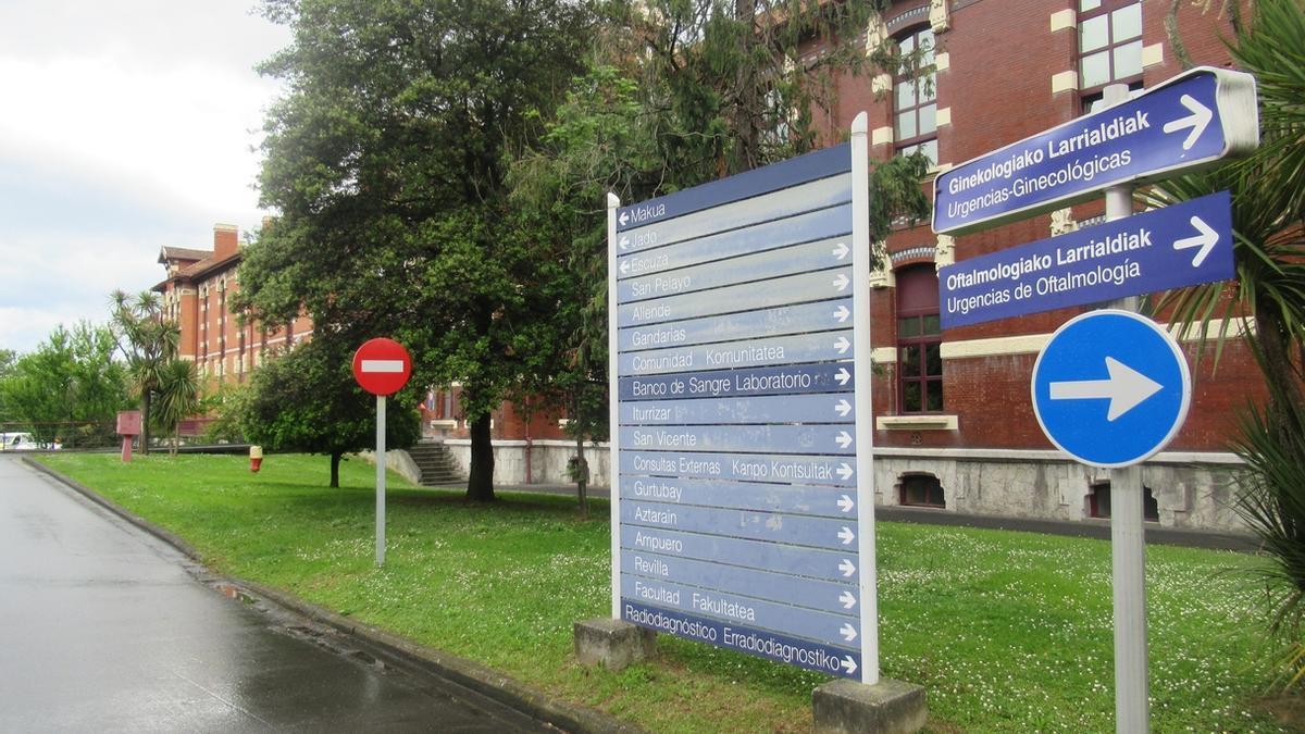 Hospital de Basurto, en Bilbao
