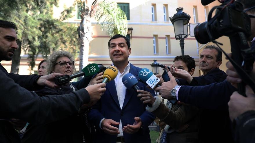 """Moreno (PP-A) afirma que """"2017 pasará a la historia como el año en que Susana Díaz quiso irse de Andalucía y no pudo"""""""