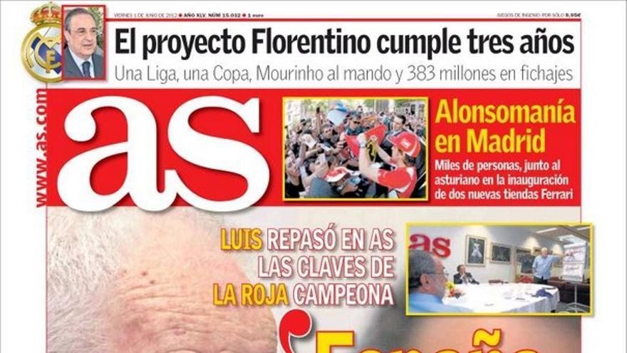 De las portadas del día (01/06/2012) #10