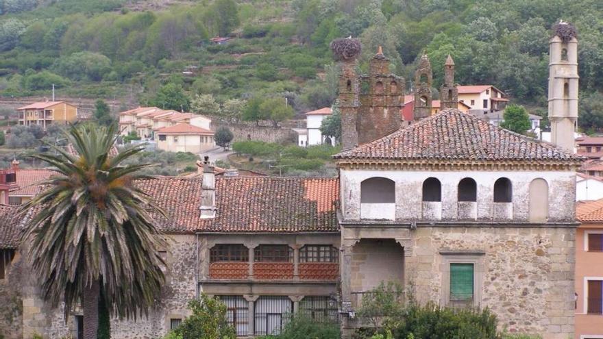 Palacio de los Condes de Osorno, en Pasarón de la Vera