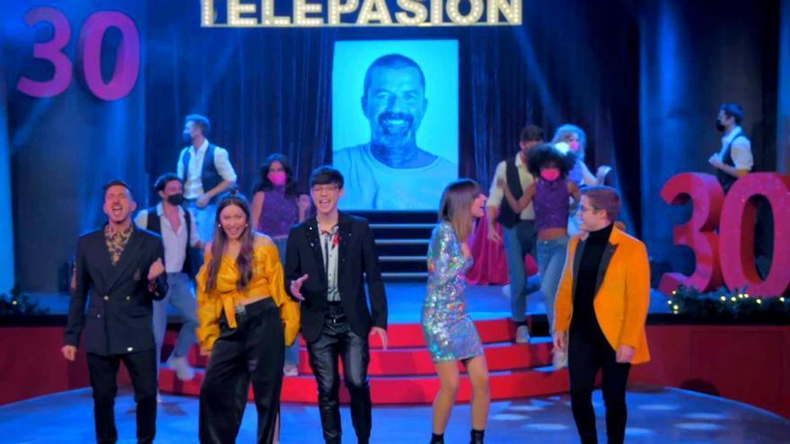 Los concursantes de 'OT 2020' homenajearon a Pau Donés en 'Telepasión'