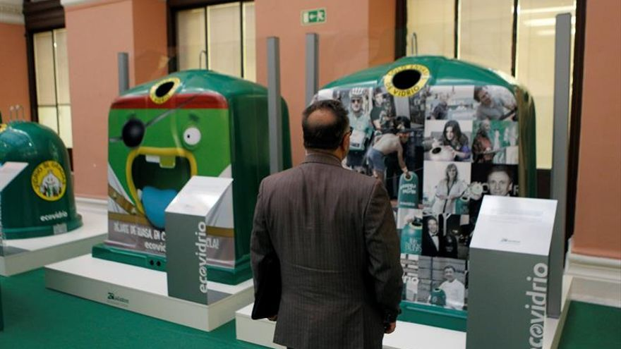 El reciclaje de vidrio rozó las 790.000 toneladas en 2017