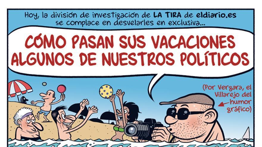 Las vacaciones de los políticos