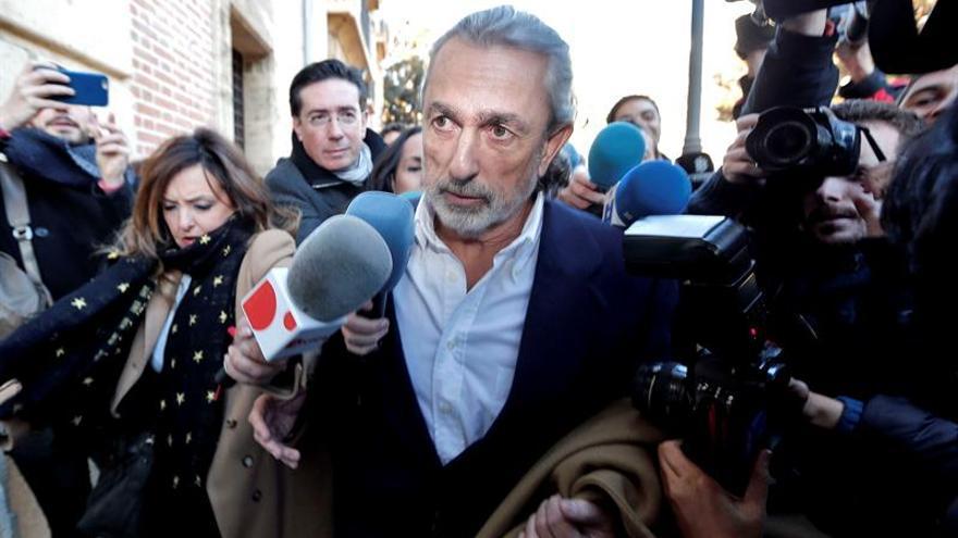 Francisco Correa es el primero de los condenados por Fitur en acudir al TSJCV