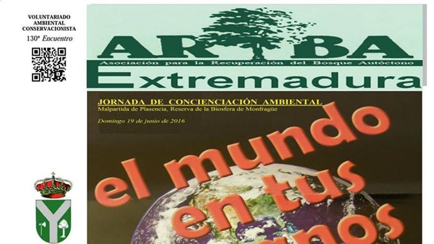 Cartel de la próxima acción de ARBA Extremadura
