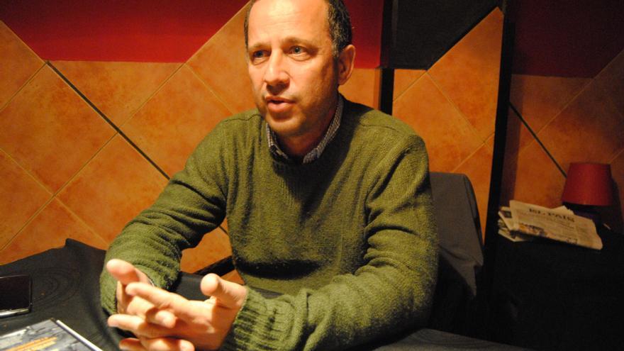 Eduardo García, de la asociación pro búsqueda, ha pasado esta semana por Extremadura / Jesús Conde