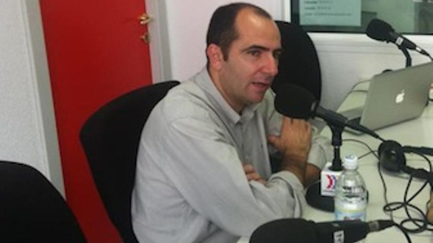 Himar Ojeda en el estudio de Canarias Ahora.