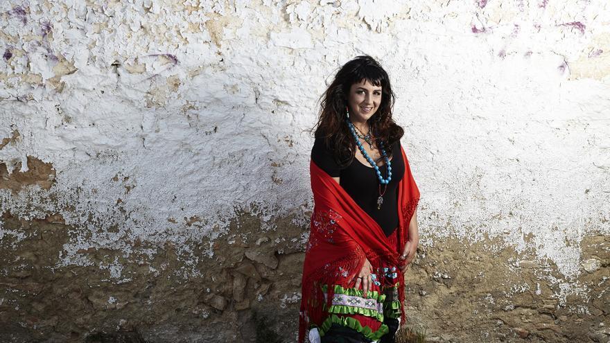 La cantante Amparo Sánchez.