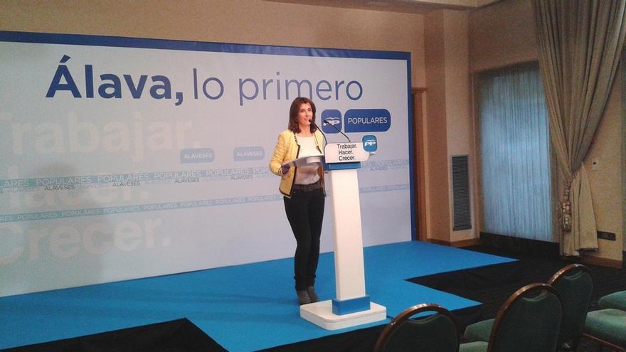 """PP vasco dice que Rajoy saldrá reforzado de la moción de censura y que Podemos se quedará """"sólo con los votos radicales"""""""