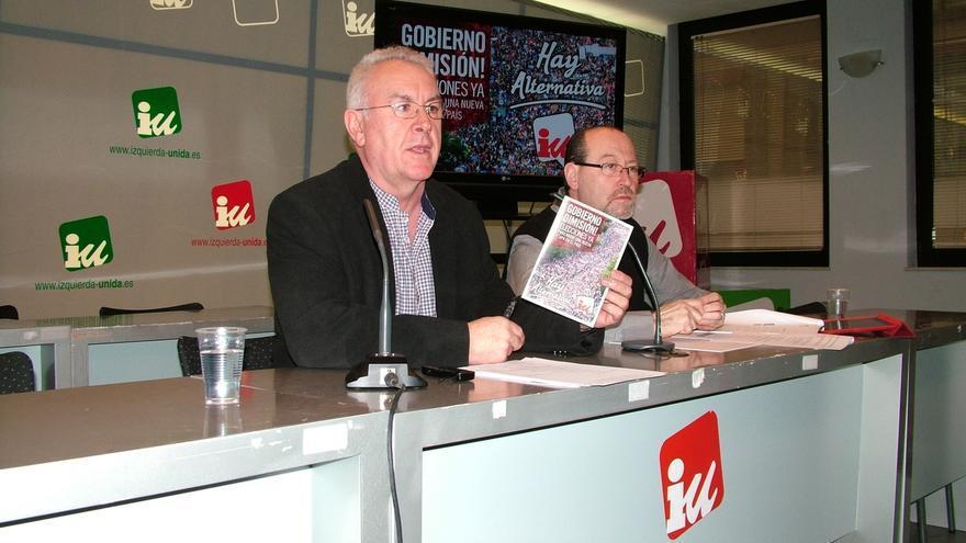 """Cayo Lara defiende la exigencia de dimisiones en IU de Madrid frente a la percepción del """"aquí no dimite ni Dios"""""""