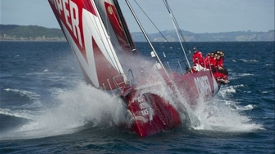 Camper With Emirates Team New Zealand