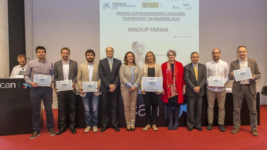 InnoUp Farma, empresa navarra dedicada a la nanotecnología, gana el premio Emprendedor XXI