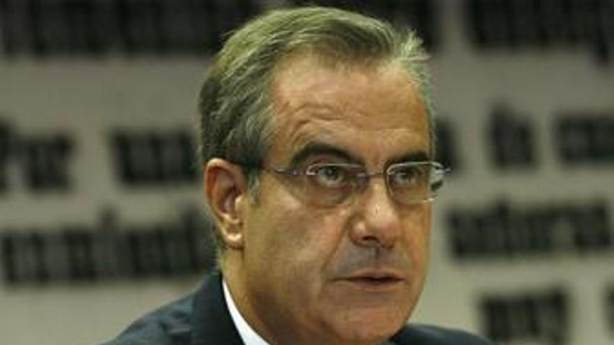 Celestino Corbacho en el Senado