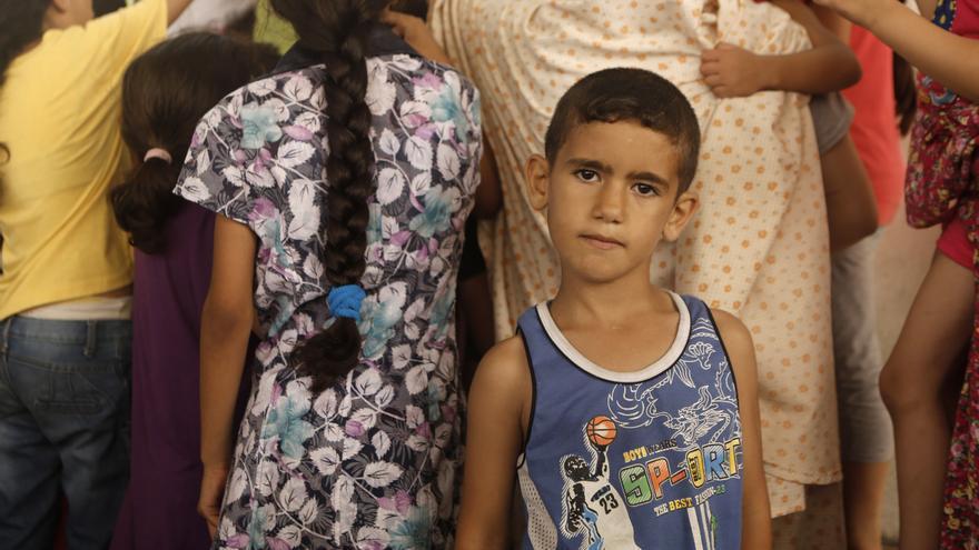Salama Shamali, por Iyad Al Baba/Oxfam
