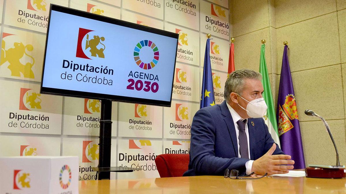 El delegado de Programas Europeos y Administración Electrónica de la Diputación de Córdoba, Víctor Montoro.