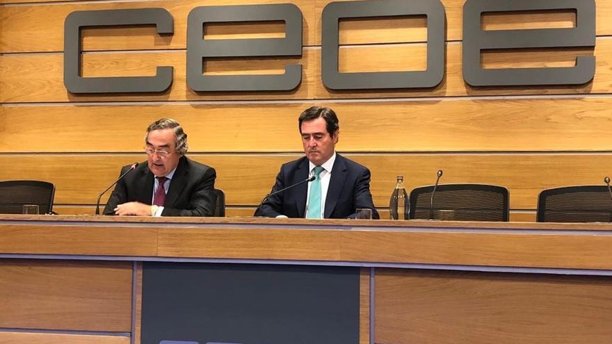 """Garamendi se presenta para suceder a Rosell con """"responsabilidad"""" y con la idea de mantener la unidad en CEOE"""