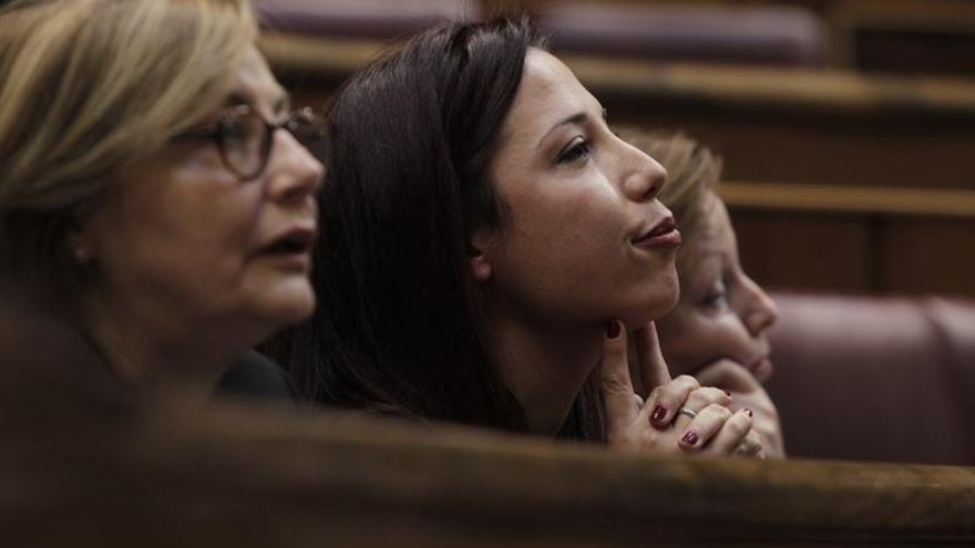 Patricia Hernández en el Congreso. FOTO: Europa Press.