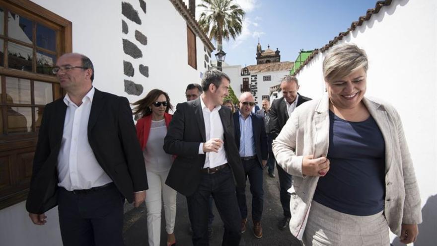 El presidente del Gobierno de Canarias ha realizado este miércoles  una visita oficial al municipio de Los Llanos de Aridane. Foto: Gobierno de Canarias/Arturo Rodríguez.
