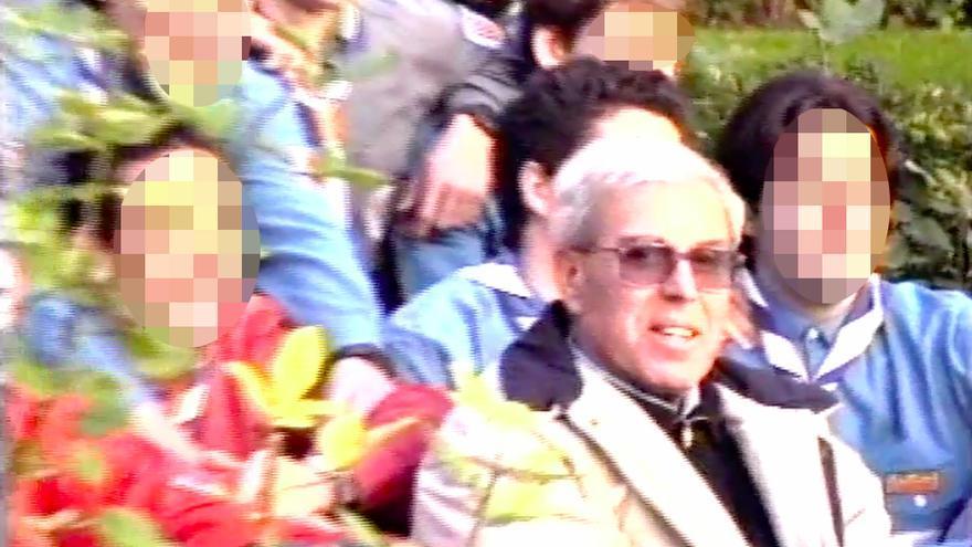 Andreu Soler, en una foto de un viaje a Roma en 1999