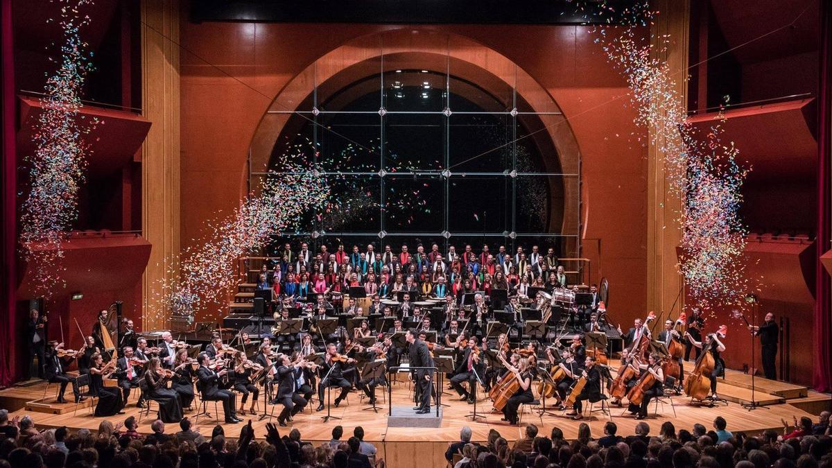 Concierto de Año Nuevo en el Auditorio Alfredo Kraus, Las Palmas de Gran Canaria