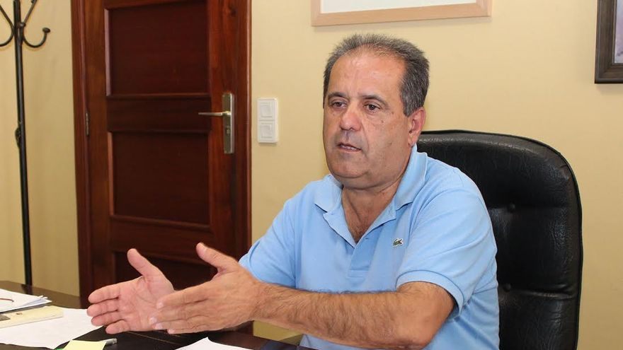 José Luis Perestelo, vicepresidente del Cabildo y consejero de Transportes.