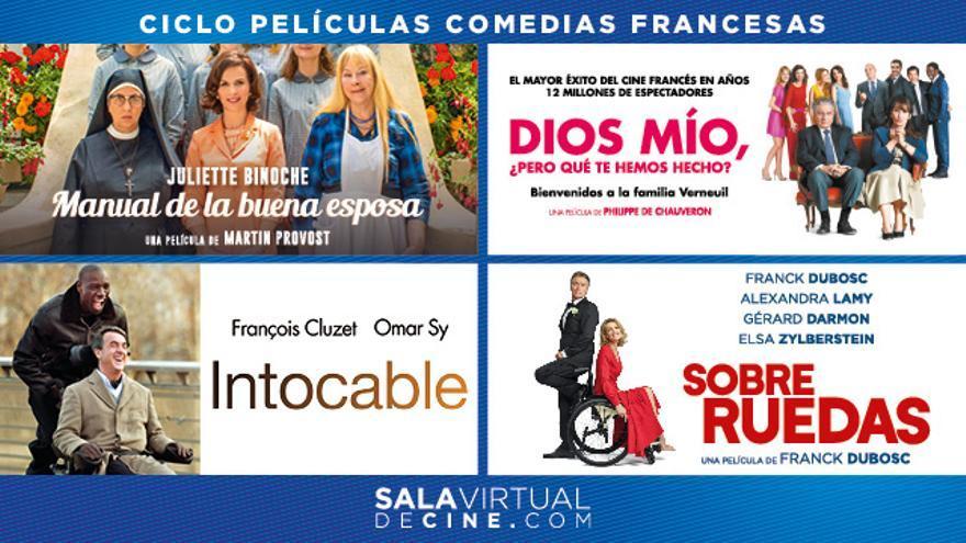 Cartel ciclo comedia francesa