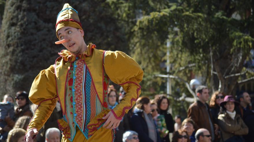 Peña Harúspices, Tomelloso (Ciudad Real). Fantasía de Pinocho / Foto: Javier Robla
