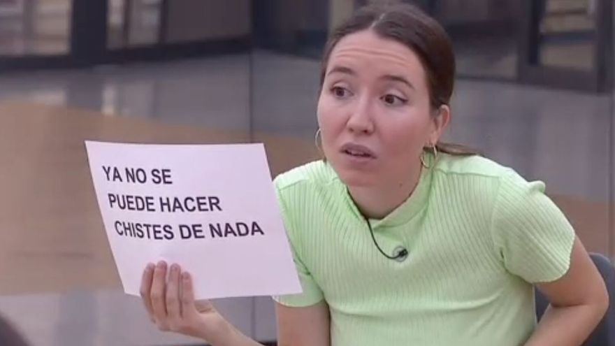 Anna Pacheco durante su intervención en OT 2020