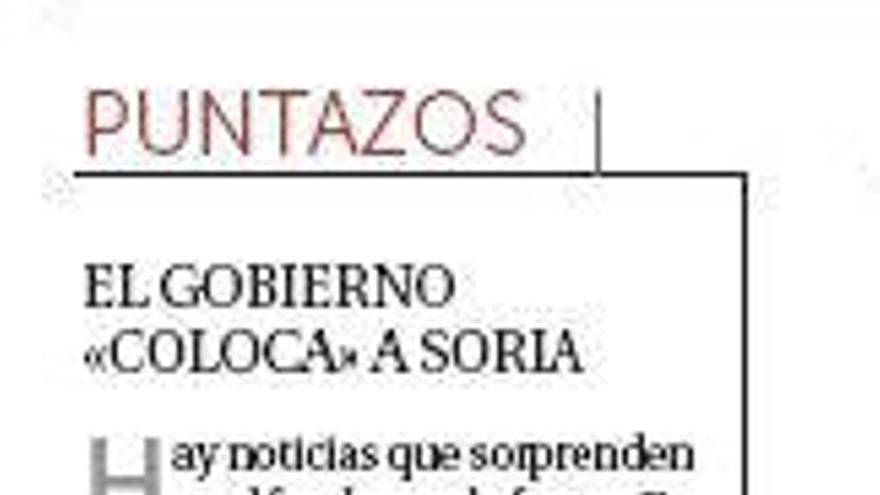 La Razón, sobre Soria