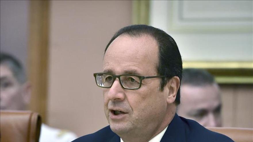 El 73 por ciento de los simpatizantes de izquierda galos no quiere que Hollande repita