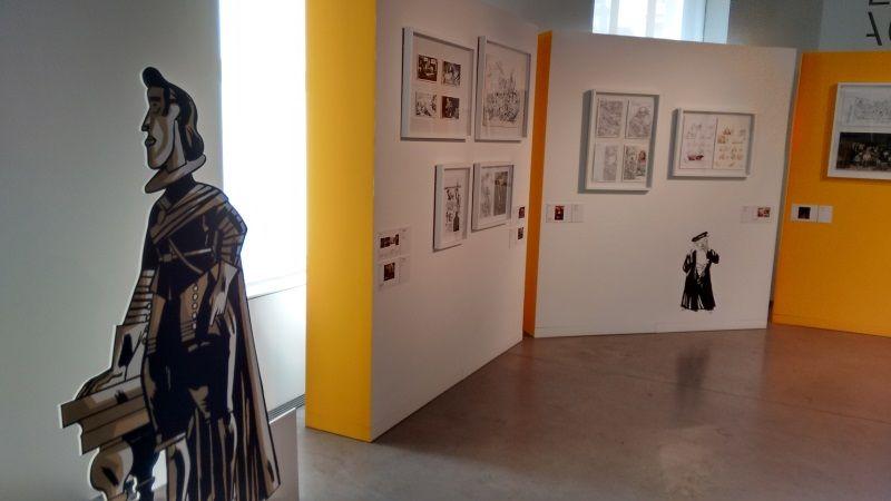 Exposición El Arte en cómic