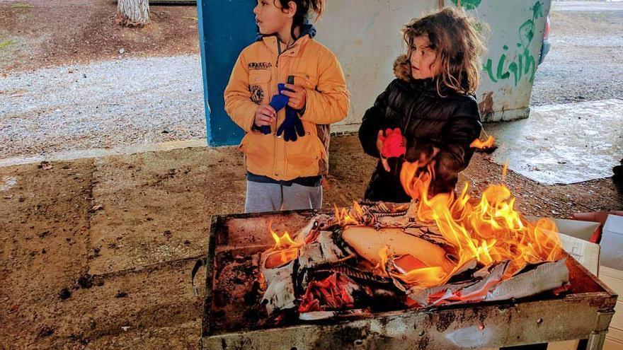 Campo de refugiados de Ritsona / Amanda Gómez