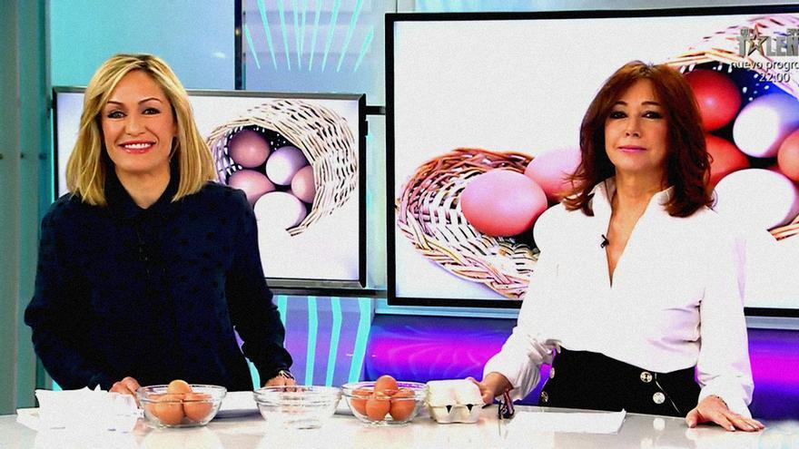 "Luján Argüelles y Ana Rosa Quintana en ""El programa de AR"""