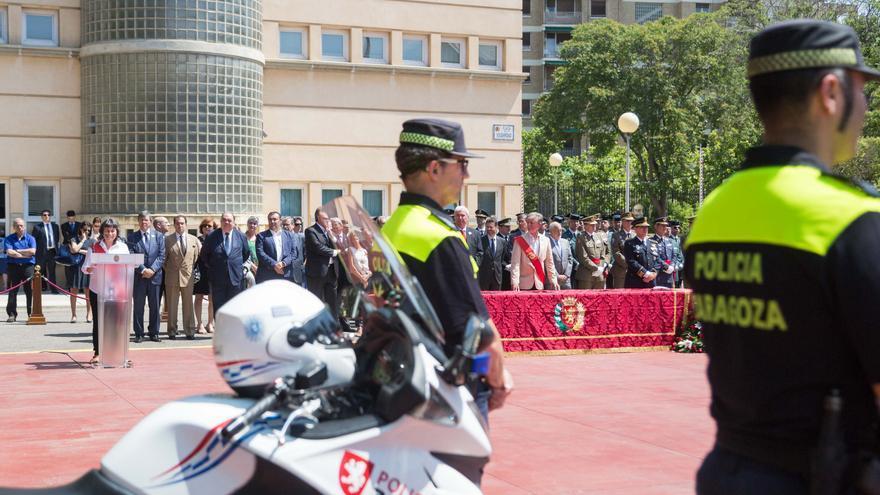 Celebración del día de la patrona de la Policía Local en 2017