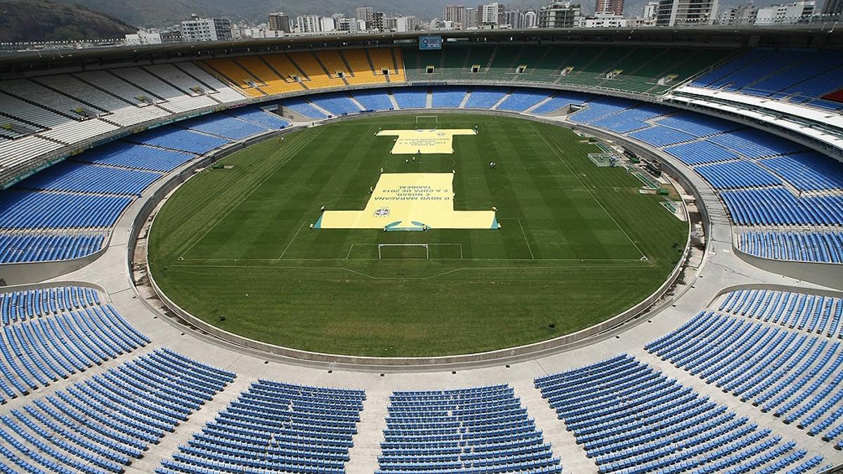 El estadio Maracaná, en Río de Janeiro
