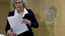 Carmena pide debatir de competencias bajando el discurso a lo organizativo