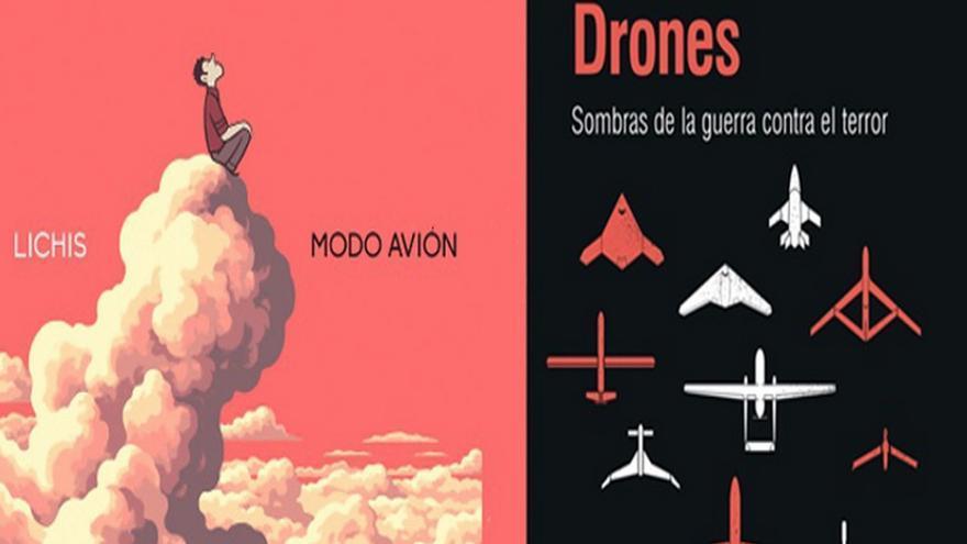 La historia de drones y Lichos en modo avion