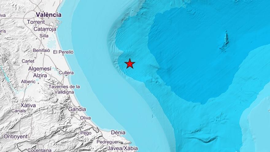 El IGN ha detectado el seísmo a 48km de la costa
