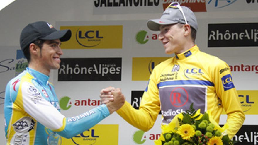 Brajkovic y Contador