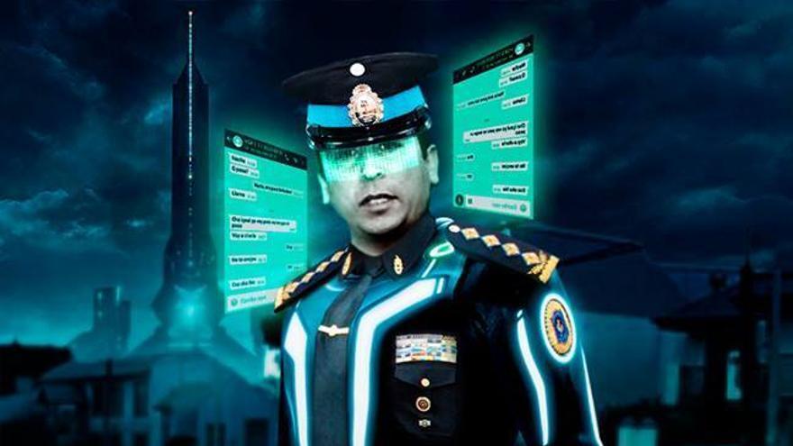 El comisario Marcelo Guerrero se ha hecho famoso gracias a su sistema