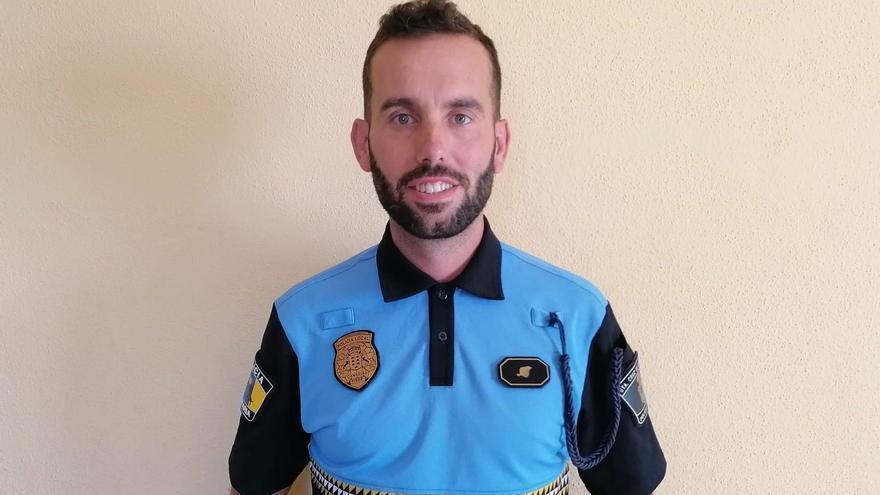 Jacobo Fernández es portavoz de la Policía Local de Santa Cruz de La Palma.