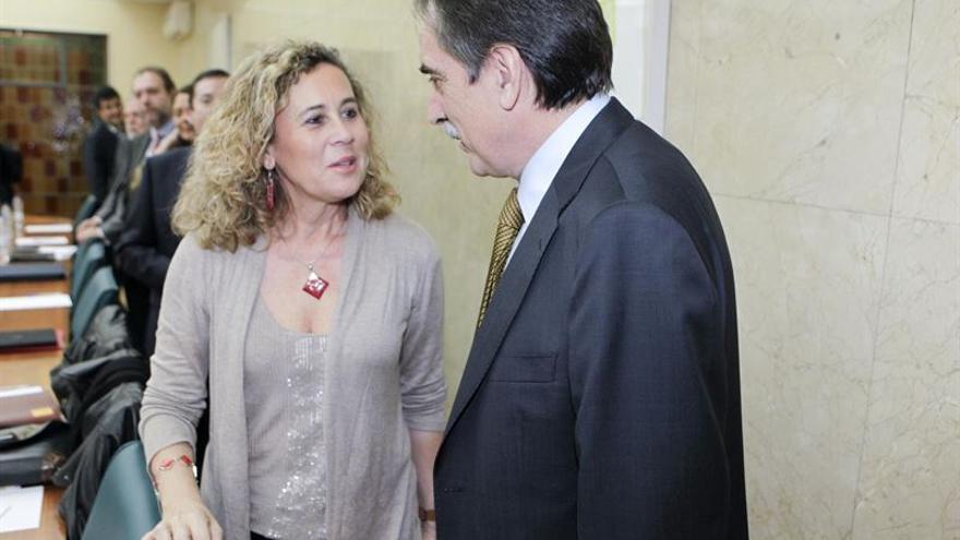 La senadora de Coalición Canaria María del Mar Julios. (Zipi/Aragón).