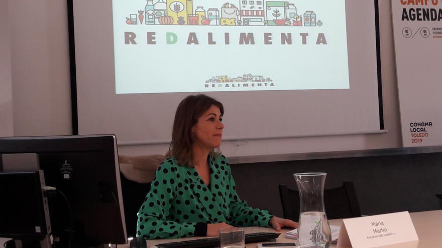 María Martín, de Red Alimenta