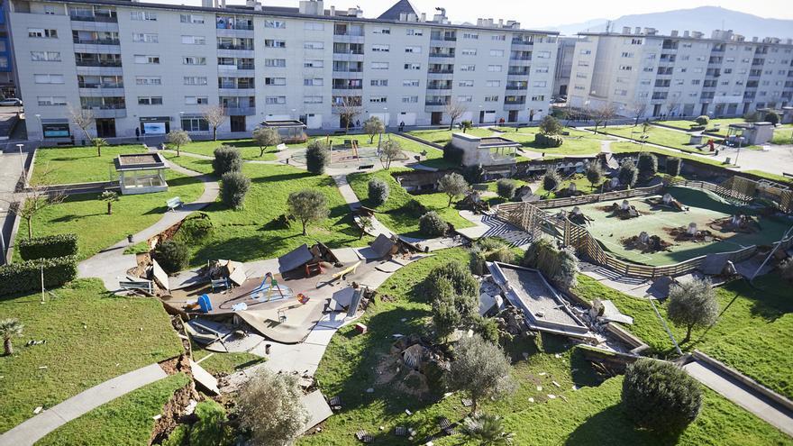 La alcaldesa reitera que los vecinos de Nueva Montaña están seguros en sus casas