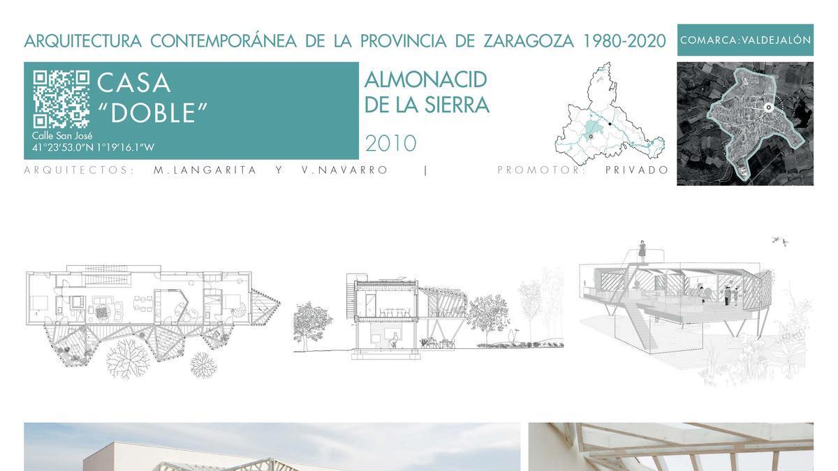 """Casa """"doble"""" Almonacid de la Sierra"""
