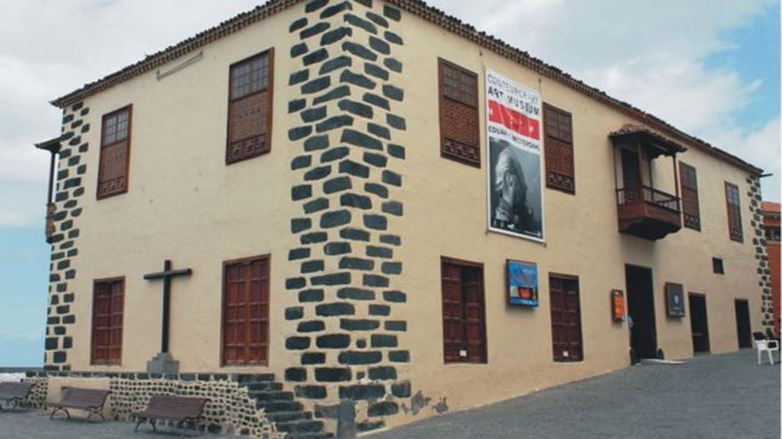 Casa de la Aduana, entorno en que se celebrará la II Feria de Arte Joven, en Puerto de la Cruz