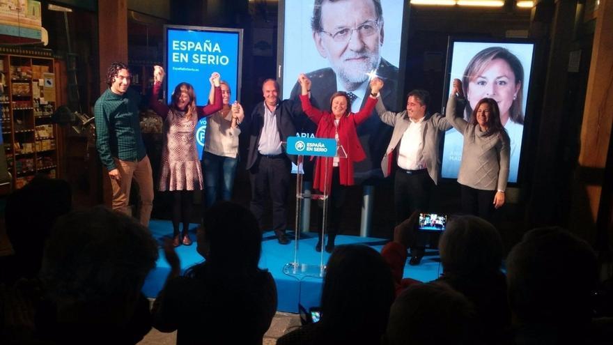 """Los candidatos del PP ofrecen seguir trabajando """"por una España recuperada"""""""