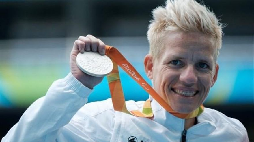 Marieke Vervoort en los Juegos Paralímpicos de Río 2016