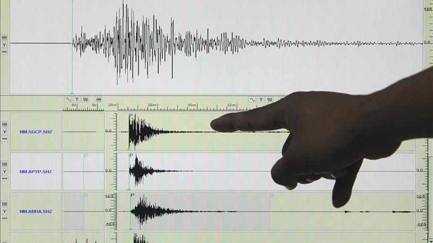 Un terremoto en el Oceáno Índico de 7,1 grados en la escala Richter